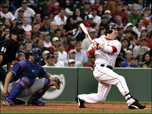 Trot Nixon's future with the Boston Red Sox was brought into question earlier this season when the team acquired Wily Mo Pena. In response, Nixon has stayed relatively healthy and hit .311 with a .415 OBP, which is good for fifth in the American League. Nixon's power, however, seems to dwindling. He has just six home runs at the halfway point.