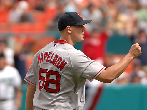 Jonathan Papelbon recorded four outs for the save.