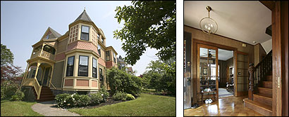Ada Focer accepted a bid on her Victorian home in Dorchester that she received after posting her house on an online auction.