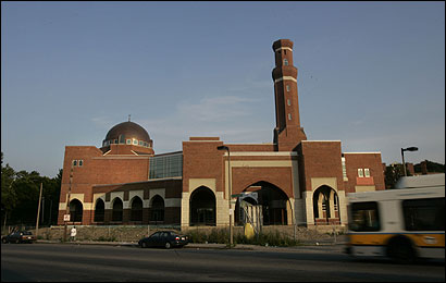 Construction of this mosque in Roxbury is at the heart of a heated dispute between Muslims and Jews in Boston.