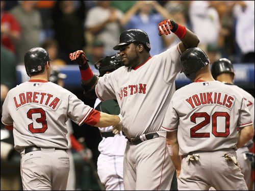 The Boston Red Sox reached the All-Star break in first place in the AL East They are three games ahead of the Yankees with a 55-33 record.