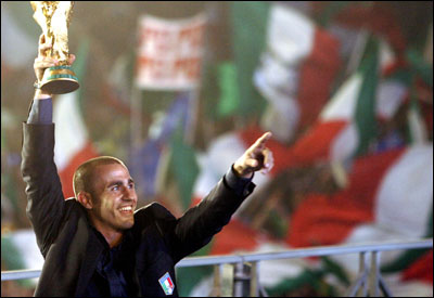 Proud captain Fabio Cannavaro and his teammates ended more than two decades of frustration for Italian fans with their victory in a World Cup marred by deplorable incidents