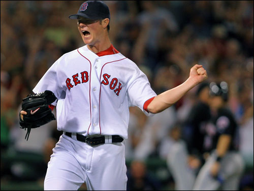 The Red Sox have the best record in the major leagues when their starter lasts six or more innings (40-14).