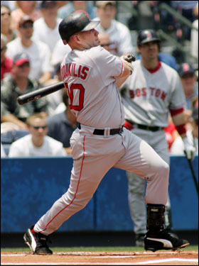 Kevin Youkilis's on-base percentage in the leadoff position is .404 (Coco Crisp, .299). When actually leading off innings, Crisp's OBP is .458, Youkilis .379.