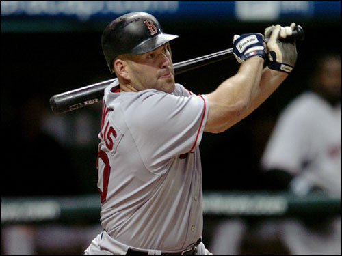 Kevin Youkilis is batting .395 with two outs and runners in scoring position, .243 with fewer than two outs.