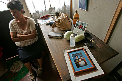 Miriam Vargas spoke about her daughter, Milena Del Valle, yesterday at her home in Vasquez de Coronádo, Costa Rica. ''God took care of me through Milena,'' Vargas said.