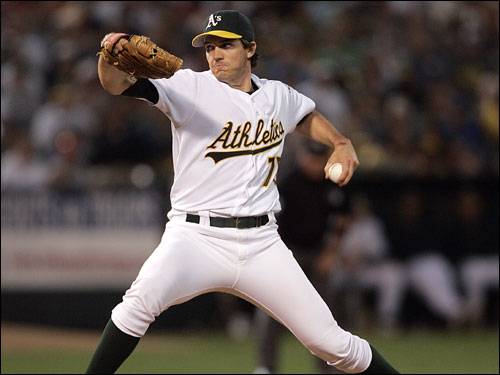 Barry Zito is 3-4 lifetime against the Red Sox wit ha 4.60 ERA. Zito got the win in a 15-3 laugher on July 14, going five innings and allowing two earned runs. Besides David Ortiz' .381 average, no Red Sox regular with more than two at-bats is hitting above .267 against Zito.