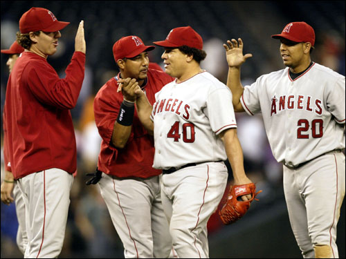 The Angels are the hottest team in baseball right now, winning 11 of 12 before beginning a series with the Cleveland Indians, pulling them within two games of the AL West-leading Oakland A's.
