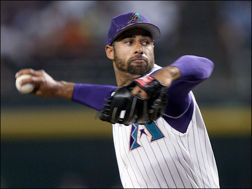 Miguel Batista has pitched well lately but can be a free agent after the season. The Diamondbacks are in the race; GM Josh Byrnes is certainly familiar with Boston's young talent.