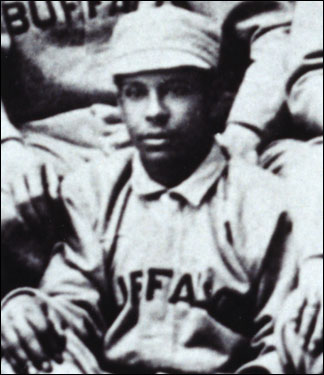 Frank Grant, a native of Pittsfield, was considered the greatest African-American player in the 19th century during his years as a second baseman in the International League. Grant had lots of power from the plate despite his small stature (5-foot-7', 155 pounds). He was frequently among the league leaders in batting . In 1887, the 22-year-old paced the IL with 11 home runs and 49 extra-base hits and led Buffalo with 40 stolen bases.