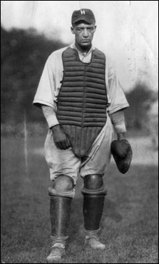 ''Top'', as he was known, was a power-hitting lefthander batter and made his mark in the years leading up to the start of the Negro League (1920) as perhaps the best catcher of his day, backstopping some of black baseball's premier teams. By his third year of pro bal (1912), he was a start with the New York Lincoln Giants, handling top hurlers ''Cannonball'' Dick Redding and ''Smokey'' Joe Williams. Went to play Brooklyn Royal Giants and Philly Hilldales.