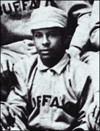 Slick-fielding second baseman Frank Grant is considered by many to be among the best black ballplayers of the 19th century.