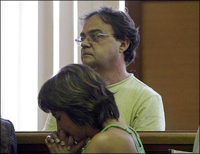 Luiz Carlos and Ana Maria Miranda Ribeiro of Brazil, at left, were charged following the death of Fabiola B. DePaula.