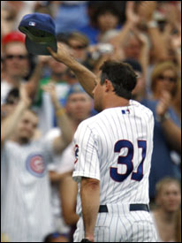 New Dodger Greg Maddux has mixed feelings on his trade from the Cubs to Los Angeles.