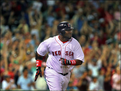 Where would the Sox be without David Ortiz? Ortiz has two walkoff hits since the All-Star break (not to mention his 10 homers and 23 RBIs in the last 25 games), and Mark Loretta has one as well. Without those three hits, the Sox could be 9-19 since the break.