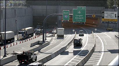 The Ted Williams Tunnel eastbound, as well as Ramp A from South Boston to the Interstate 90 connector road, were opened to all traffic overnight Tuesday.