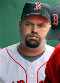 David Wells could exhale after a job well done: 7' innings, two earned runs.