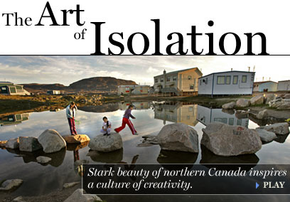 Meet the artists and see the landscapes of Nunavut.