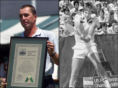 An eight-year age gap made the ledger lopsided at either end — Connors won 13 of their first 18 meetings, Lendl the final 17. Their two biggest showdowns, in the 1982 and 1983 US Open finals, were both won by Connors.