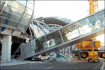 Engineering failures - including Paris's Charles de Gaulle airport roof cave-in - can help improve future public and private building projects.