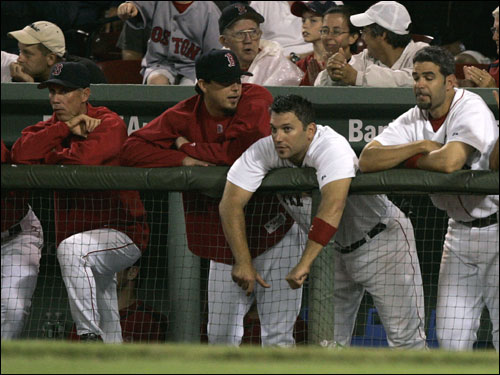 With the most disappointing season in years in the books, we go position by position and take a final look back at the performance of the 2006 Red Sox, allowing you to give each player a final grade. (Text by Ian Rider, Boston.com Staff)