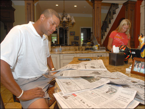 Doc Rivers at home - Boston.