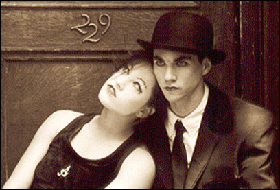 Amanda Palmer and Brian Viglione of The Dresden Dolls. The Dolls won three awards at this year's Boston Music Awards.