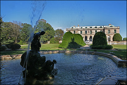 Miramar, the onetime summer home of the Widener family, contains 30,000 square feet of limestone and marble opulence.