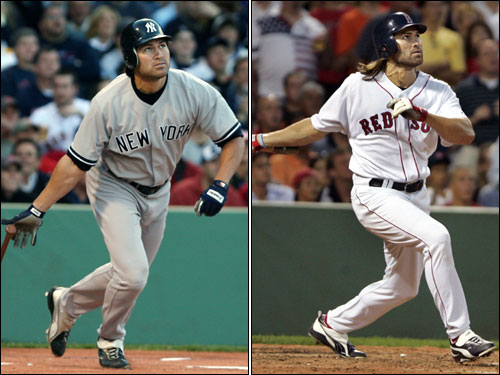 "In four seasons with the Red Sox, Johnny Damon became one of the most beloved ""Idiots"" on the team. After his contract expired, Damon signed with the hated Yankees and will be playing center field in pinstripes this postseason."