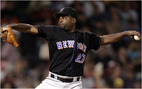 Reliever Darren Oliver was another member of the 2002 Red Sox now contributing to the NL East-winning Mets.