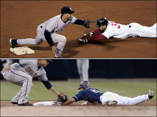 Dave Roberts's steal in Game 4 of the 2004 ALCS will forever be a part of Red Sox lore. Roberts signed with San Diego in 2005 and has a chance to get back to the World Series with San Diego this year.