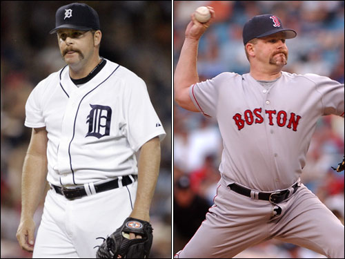 Todd Jones was a member of the Red Sox in 2003 and this year picked up 37 saves for the AL Wild Card Tigers.