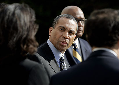 Deval Patrick said last week that he contacted the victim's family in the Benjamin LaGuer case to apologize.