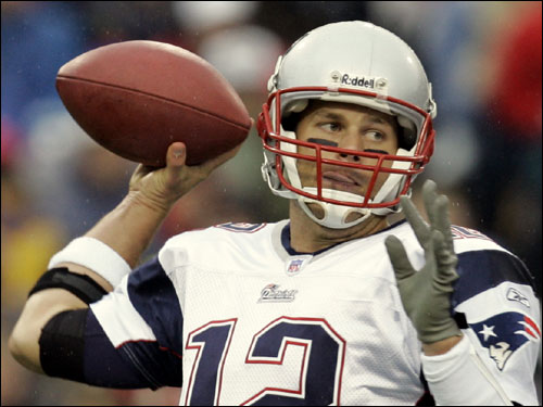 Losman was opposed by Tom Brady.