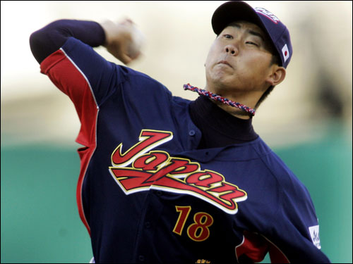 Was this the guy Curt Schilling was talking about when he said financial constraints would not hinder the Red Sox' plans for the offseason? Could be, because Matsuzaka is going to cost one team a small fortune to import to the United States. Bidding for the Japanese star, who was posted by the Seibu Lions, could reach the $20 million to $30 million range, and that's just for the right to negotiate with him.
