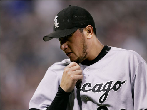 While most teams aren't looking to unload the arms, the White Sox may be an exception, with Freddy Garcia (pictured) and Javier Vazquez possible trading chips.