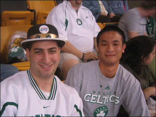 "Chris Kalil and Nelson Eng were too young to remember Auerbach, but they still understand what he means to the team. ""I think any NBA fan knows how important he was,"" said Eng.""It started with him."""