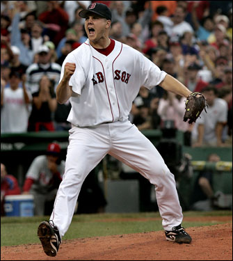 Despite a late-season injury, Jonathan Papelbon blew everyone away with a sensational season (0.92 ERA, 35 saves in 41 chances) as the Red Sox closer in 2006, but the team decided he will be more valuable in the starting rotation for 2007. That leaves a huge void in the back of the bullpen for the upcoming season. The Globe's Gordon Edes identifies five options for the Sox, and we let you vote on which you think is best.