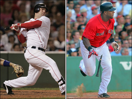 Trot Nixon's durability and production have been on the decline his last few seasons with the Red Sox, while Wily Mo Pena has shown signs of becoming a star but might still be too raw to step into an everyday role. Nixon's free agency means the Sox have a hole to fill in right. The Globe's Gordon Edes identifies five options for the Sox, and we let you vote on which you think is best.