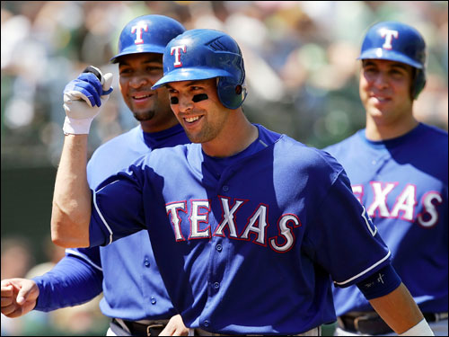 The former University of Pennsylvania quarterback, whose natural position is shortstop, had a career season for the Rangers last season, batting .296 with 40 doubles and 13 home runs, and figures to draw a good deal of attention in the market.