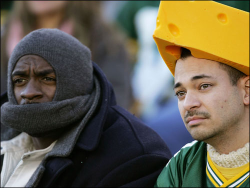 Packers fans did not have much to cheer about on Sunday.