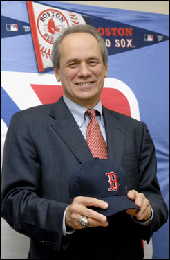 Red Sox president Larry Lucchino was in Tokyo, Japan on Tuesday to meet with representatives of Daisuke Matsuzaka's Seibu Lions.