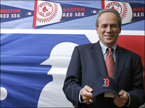 'We have sent a formal offer to Matsuzaka and his agent Scott Boras,' Lucchino told reporters.