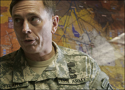 Lieutenant General David Petraeus rewrote an Army manual.