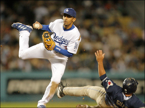 The Sox' pursuit of Julio Lugo got more interesting on Friday when the Dodgers offered the shortstop salary arbitration. The Sox would have to surrender their first-round draft pick as compensation if they signed Lugo. Lugo hit .278 with 12 home runs and 37 RBIs last season.