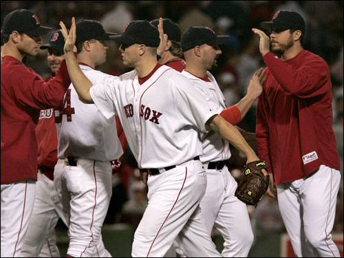 With Jonathan Papelbon conditioning himself this offseason as a starter for 2007, the Red Sox no longer have a lights-out guy at the end of their bullpen.