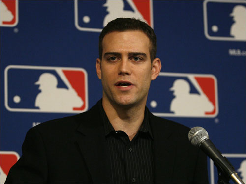Theo Epstein said Wednesday that the bullpen was a top priority for the team this offseason. 'We've had a lot of talks with teams about trades in which we'd get a closer back,' said Epstein. 'We've dabbled in free agency but obviously haven't gotten anything done yet. And the search continues. Our bullpen is not yet a finished product. It will look a lot different on Opening Day than it looks right now.'