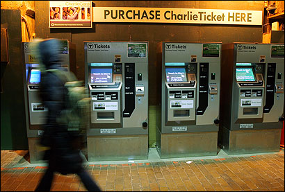 T officials said the Green Line is getting door side readers and validators that can scan CharlieCards and deduct payment. Nine open air stations on the D branch now have validators.