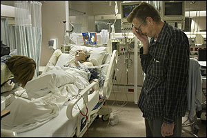 Herman Erichsen despaired as his wife, Rita, fought for breath after hip fracture surgery.