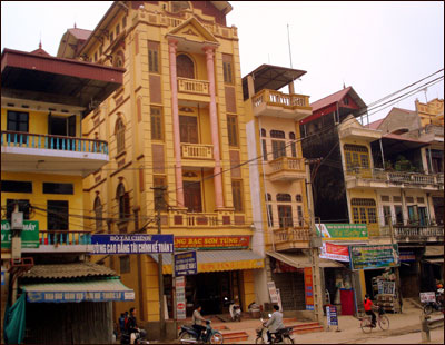 Homes in Hanoi have historically been built tall and slender to avoid real estate taxes.